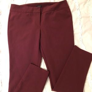Ladies Ann Taylor flat front stretch dress pants.